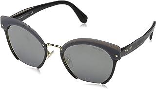 Miu Miu Sunglasse for Women, Cat Eye, Grey