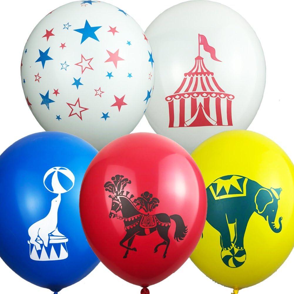 Primary Color Circus Balloon Bundles