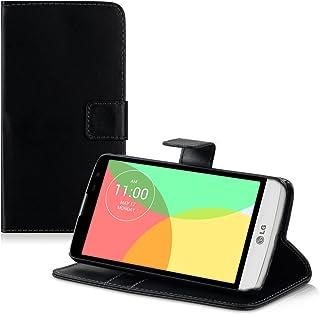 f892e18550d kwmobile Funda compatible con LG L Bello - De [cuero sintético] - Case con