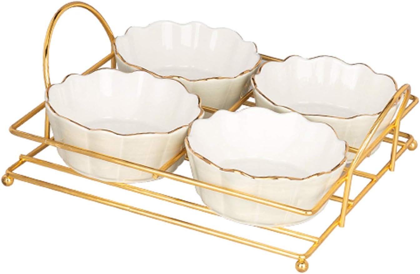 Seasoning Dishes 4pcs Ceramic Max 45% OFF Dip Sau Dipping Bowls Excellence Multipurpose