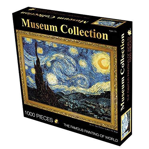 Puzzles Games for Grown Ups, Starry Sky Puzzel 1000 Stukjes Voor Volwassenen Het Karton Puzzels Educatieve Spelletjes Brain Challenge Puzzel Speeltje