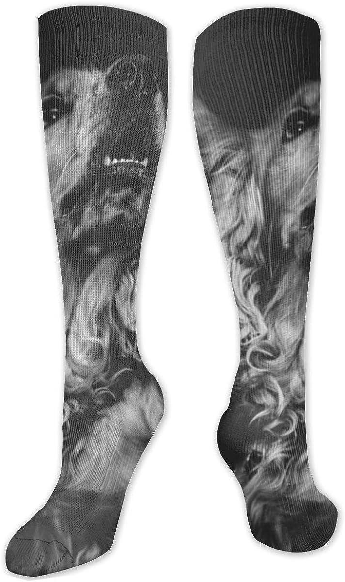 English Cocker Spaniel Dog Knee High Socks Leg Warmer Dresses Long Boot Stockings For Womens Cosplay Daily Wear