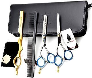 "Left Handed Hairdressing Scissors 5.5"",Barber Scissors Hair Trim and Cut thinning Perfect for Left-Handed Hairdresser"