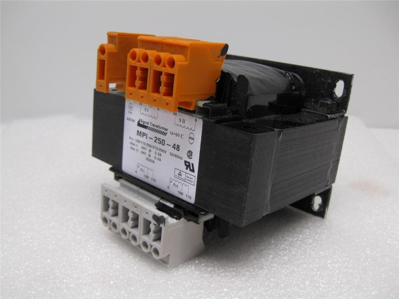 Signal Transformer Indianapolis Mall Max 80% OFF MPI-250-48 MPI25048