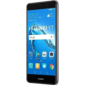 Huawei Y7 SIM Doble 4G 16GB Negro, Gris: Amazon.es: Electrónica