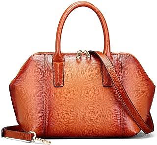 Women's Fashion Bag Simple Leather Handbag Ladies Exquisite Shoulder Messenger Bag(FM)