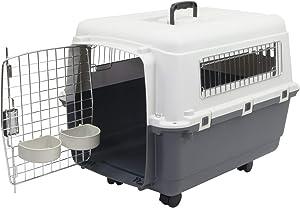 Chesapeake Bay Heavy-Duty Rolling Airline Pet Crate-Medium