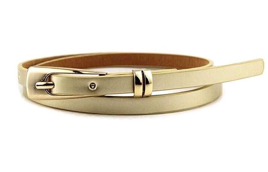 Hot Sale Fashion Women Skinny Waist Belt Lady Girl Thin Leather Narrow Waistband Belt Popular Useful Belt