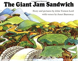 The Giant Jam Sandwich Book & CD