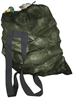 GUGULUZA Duck Mesh Decoys Bag with 2 Shoulder Straps Pigeon/Goose/Turkey Carry Large Decoy Storage Backpack for Hunting
