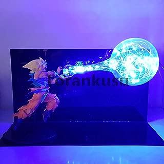 Super Saiyan Kamehameha Dragon Ball Z Son Goku Led Light Lamp Toy Anime Dragon Ball Super Action Figures DBZ