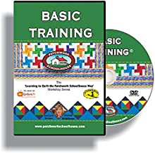 Learn to Quilt for Beginners on DVD, Basic Training is a How To Quilt as You Go Video Series from Patchwork Schoolhouse, Class Lesson 1 of 7
