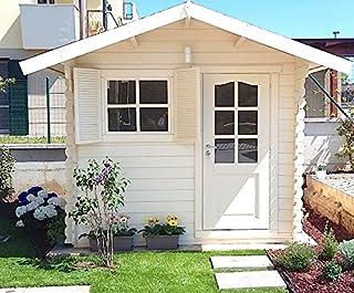 Dekalux - Caseta para jardín, de madera, 2.5x 2,5