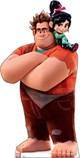 Advanced Graphics Vanellope and Ralph Life Size Cardboard Cutout Standup - Disney's Ralph Breaks The Internet: Wreck-It Ralph 2 (2018 Film)