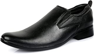 Escaro Everyday Wear Men's Leather Formal Slip On Dress Shoes