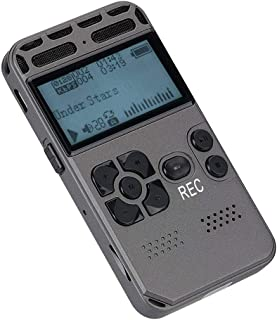 MP3 Player Dictaphone Digital LCD Screen Support 64GB Music Lectures