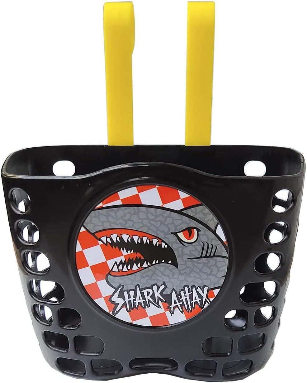 Freefish Kid's Bike Basket Front Cute In Bombing new work stock Handl Pattern Shark