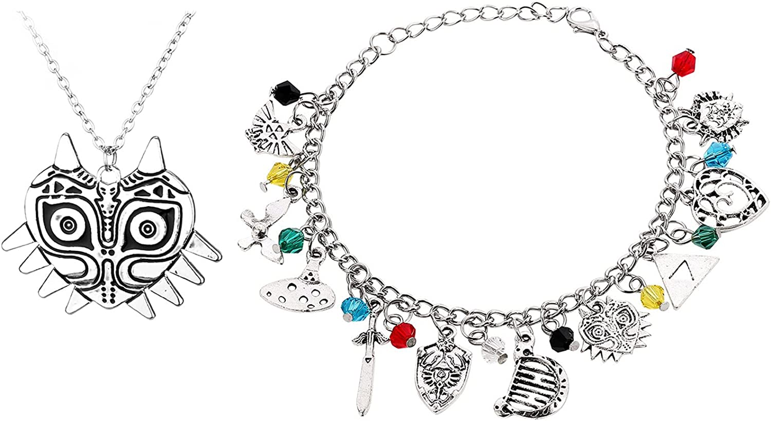 Winssi Zelda Bracelets Charms and Necklace wholesale for NEW before selling Cospla Fans