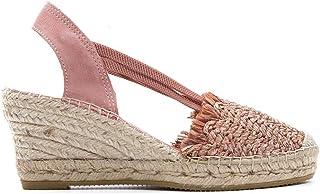 Luxury Fashion   Vidorreta Women 5500RAFIAMAQUILLAGE Pink Fabric Wedges   Spring-summer 20