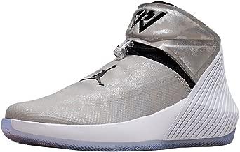 Nike Men's Jordan WHY NOT ZER0.1 Shoe Grey/Black/White/Orange