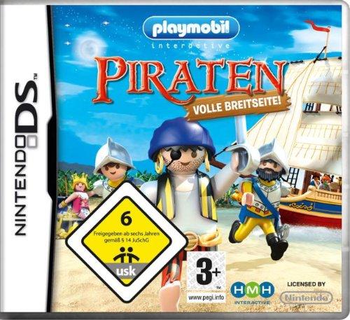 PLAYMOBIL PIRATAS AL ABORDAJE / Nintendo DS Juego in ESPANOL Multi-Idiomas Compatible TODAS Nintendo DS LITE-DSI-3DS-2DS-XL-NEW ** ENTREGA 2/3 DÍAS LABORABLES + NÚMERO DE SEGUIMIENTO **