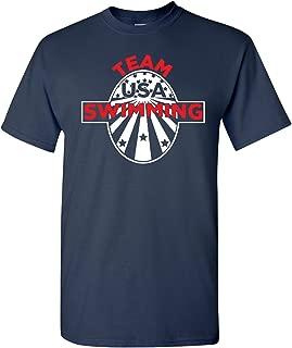 Swimming Team USA Olympics T-Shirt Youth and Men's Tshirt