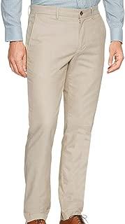 Banana Republic Men's 359308 Aiden Slim-Fit Khaki Pant, Taupe Herringbone