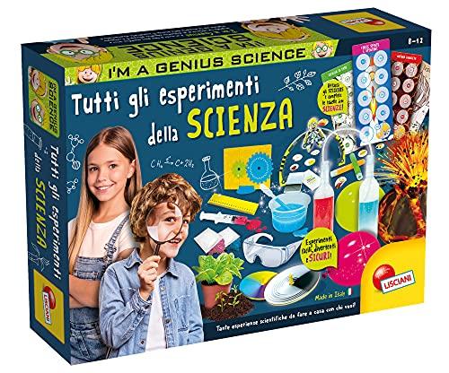 Lisciani Giochi - I'm Genius Tutti Gli Esperimenti della Scienza, Esclusiva Amazon, Multicolore, 88713