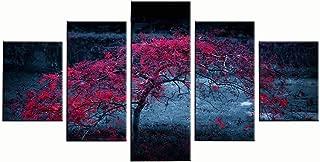 JSBVM 5 Paneles Lona HD Impreso Pel/ícula de caricaturas C/ómo Entrenar a tu drag/ón P/óster Pinturas murales de Arte para la decoraci/ón del hogar