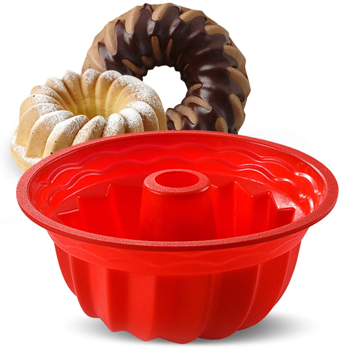 Vintage Coppertone 3 12 Cup Ring Jell-o Mold Bundt Cake Baking Pan