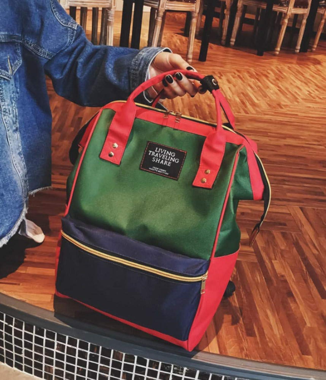 Wild hit color Plaid Junior high School Student Bag School Simple Backpack