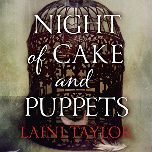 Night of Cake and Puppets audiobook cover art