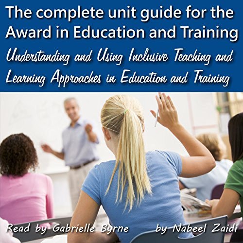 Understanding and Using Inclusive Teaching and Learning Approaches in Education and Training cover art