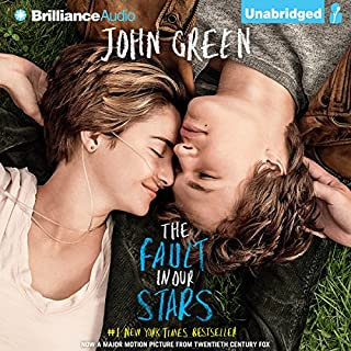 The Fault in Our Stars                   Written by:                                                                                                                                 John Green                               Narrated by:                                                                                                                                 Kate Rudd                      Length: 7 hrs and 14 mins     71 ratings     Overall 4.5