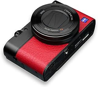 GARIZ SONY DSC-RX100M3用 貼り革キット LS-RX100M3R レッド