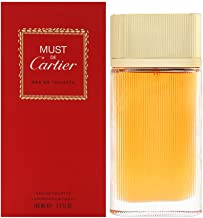 Must de Cartier by Cartier for Women 3.3 oz Eau de Toilette Spray
