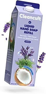 Sponsored Ad - Cleancult Liquid Hand Soap Refill, Lavender Scent, 32 oz, Natural Ingredients, Cruelty Free, Moisturizing, ...