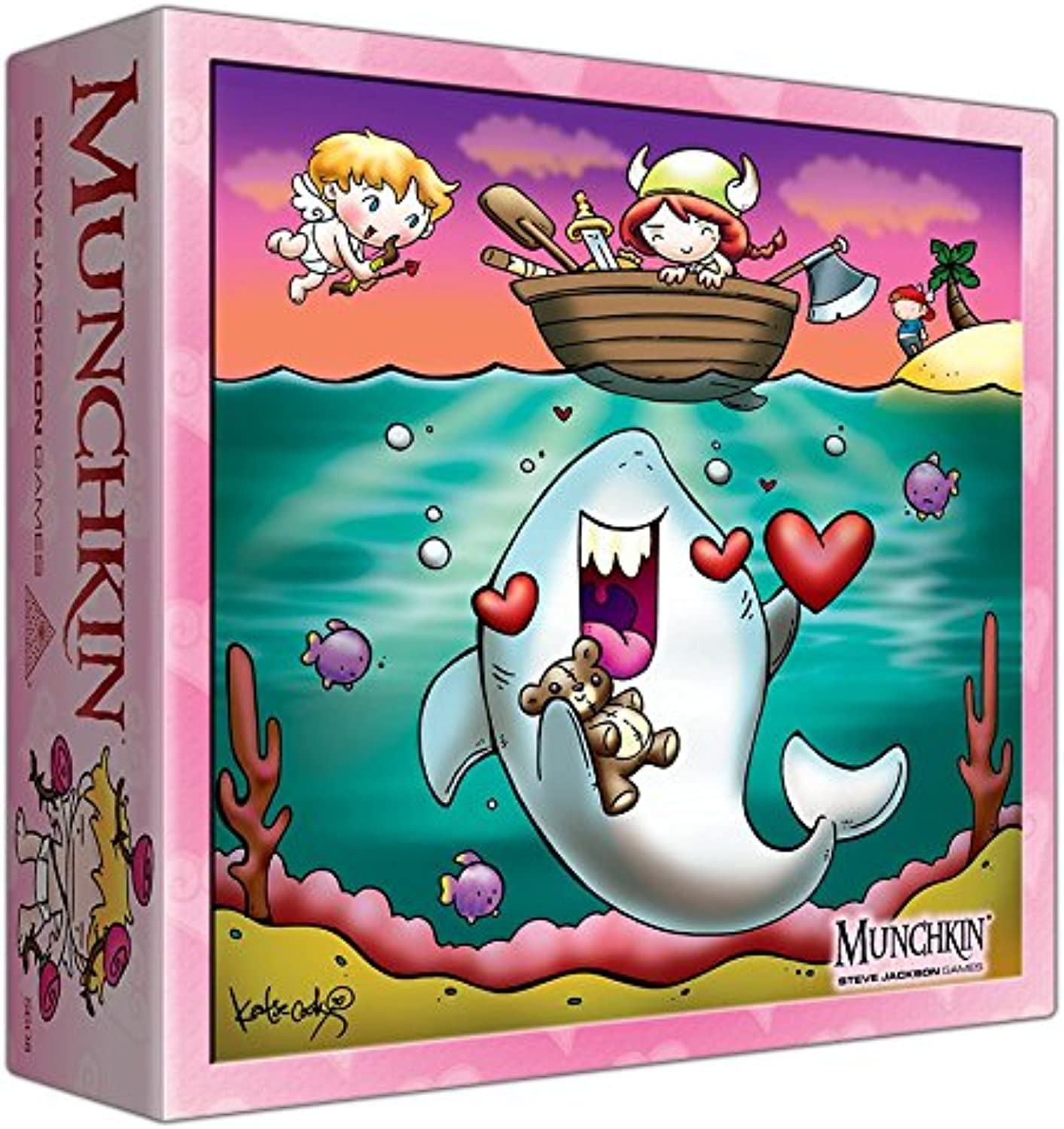 Munchkin Monster Storage Box  Valentine's Day