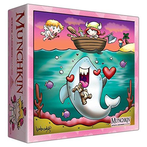 Steve Jackson Games sjg05608No Munchkin Valentines Day Monster Caja, Juego