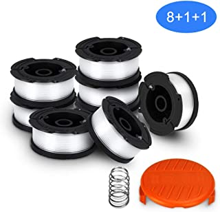 SUERW Line String Trimmer Replacement Spool, [10-Pack] 30ft 0.065