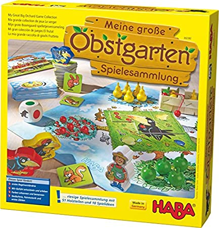 Haba - Meine große Obstgarten-Spielesammlung (10 Spiele)