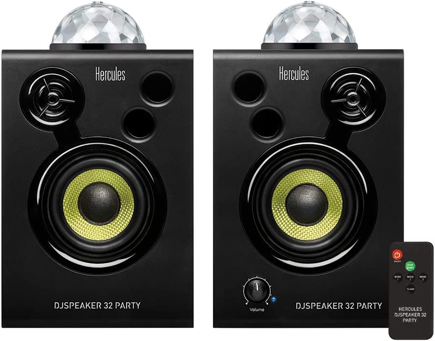 Selling and selling Hercules DJSpeaker 32 latest Party 15-Watt RMS speakers with monitor