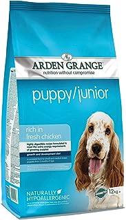 Arden Grange Puppy/Junior Dry Dog Food Rich in Fresh Chicken, 12 kg