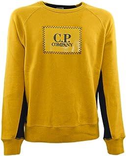 CP COMPANY Luxury Fashion Mens 05CMSS203A005115W231 Yellow Sweatshirt | Spring Summer 19