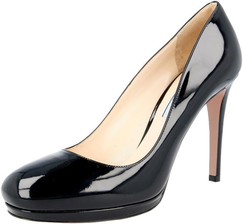 Prada Women's 1IP286 069 F0002 Leather Pumps Heels