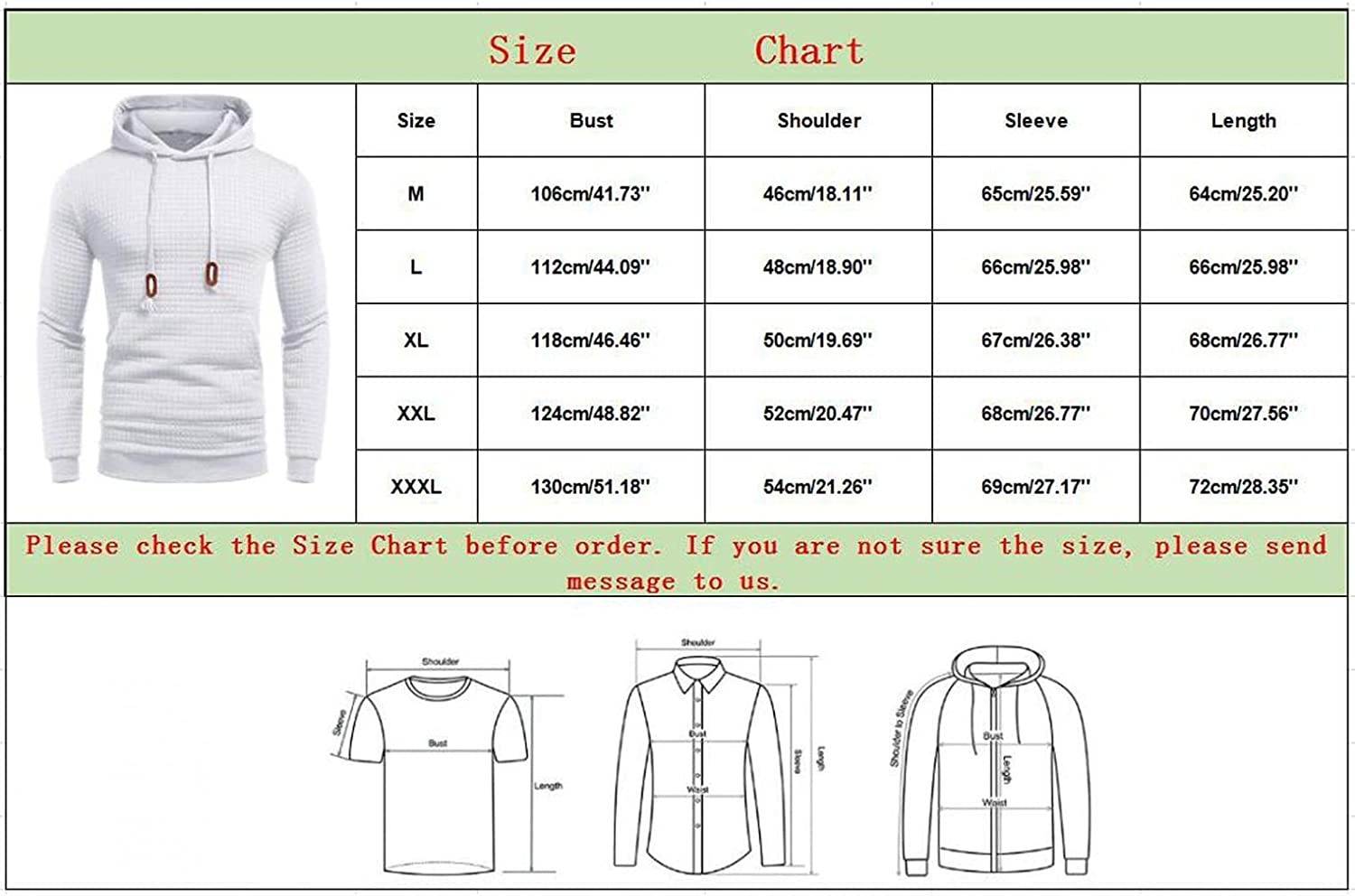 Aayomet Hoodies Sweatshirts for Men Fashion Solid Checked Tops Zipper Long Sleeve Workout Hooded Pullover Shirts Blouses