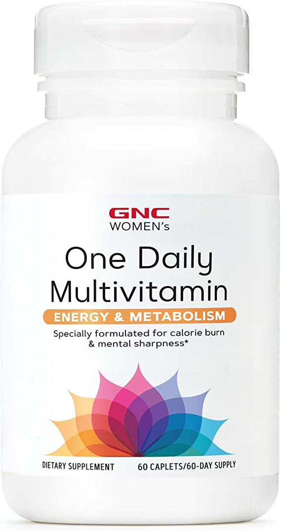 Amazon.com: GNC Women's One Daily Multivitamin Energy and Metabolism :  Health & Household