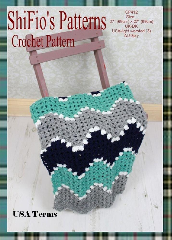 Crochet Baby Ripple Afghan Crochet For Beginners