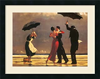 Jack Vettriano In Thoughts of You Romance Window Print Poster 31.5x23.5