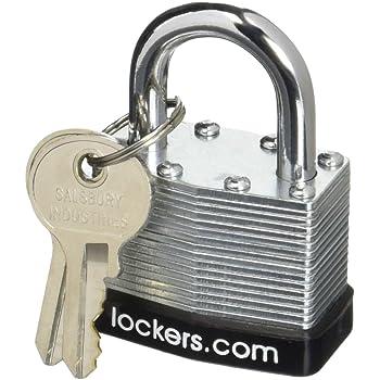Salsbury Industries 77725 Key Padlock for Metal Locker Door with 2 Keys